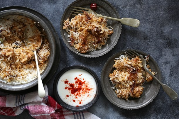 Bhune-Murgh-ki-Biryani-12-1000 Baking | Bhune Murgh ki Biryani ... delicious one pot rice & chicken Indian meal