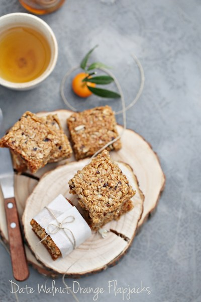 Baking | Date Walnut Orange Flapjacks … sweet comfort food