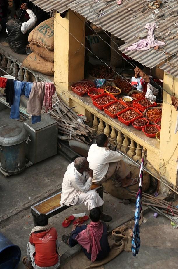 Khari-Baoli-Old-Delhi-3 Food Talk | Thandai Indian Rice Kheer ... Holi time of the year