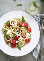 spiralizer-Salad-1000 3 ways with Watermelon - Pizza  Cooler Salad #summer #healthy #inspiration #raw