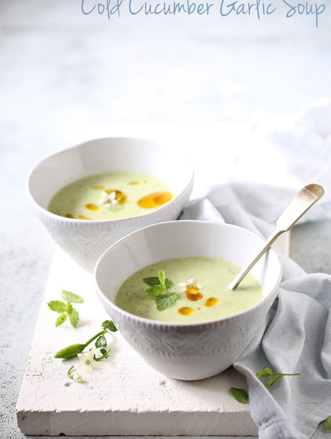 Cold Cucumber Garlic Soup… 10 things you can make in your Kitchen Aid Blender