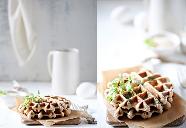 Savoury-Oat-Waffles Cold Cucumber Garlic Soup... 10 things you can make in your Kitchen Aid Blender