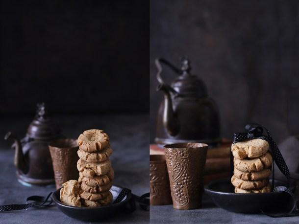 Peanut-Butter-Semolina-Eggless-Cookies-2 Dark Chocolate Walnut Gateau {GF} ... and exploring the Canon 6D Mark II #photography #canon