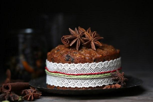 Garam-Masala-Christmas-Fruit-Cake-3-1000 Dark Chocolate Garam Masala Truffles ... the simplest, most delicious way to use leftover fruit mince