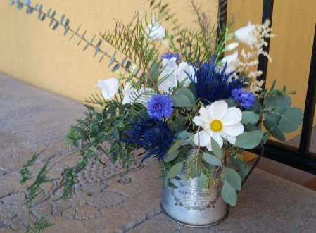White Blue - Kelowna Flower Delivery Shop | Flower Arrangements & Bouquets - Passionate Blooms