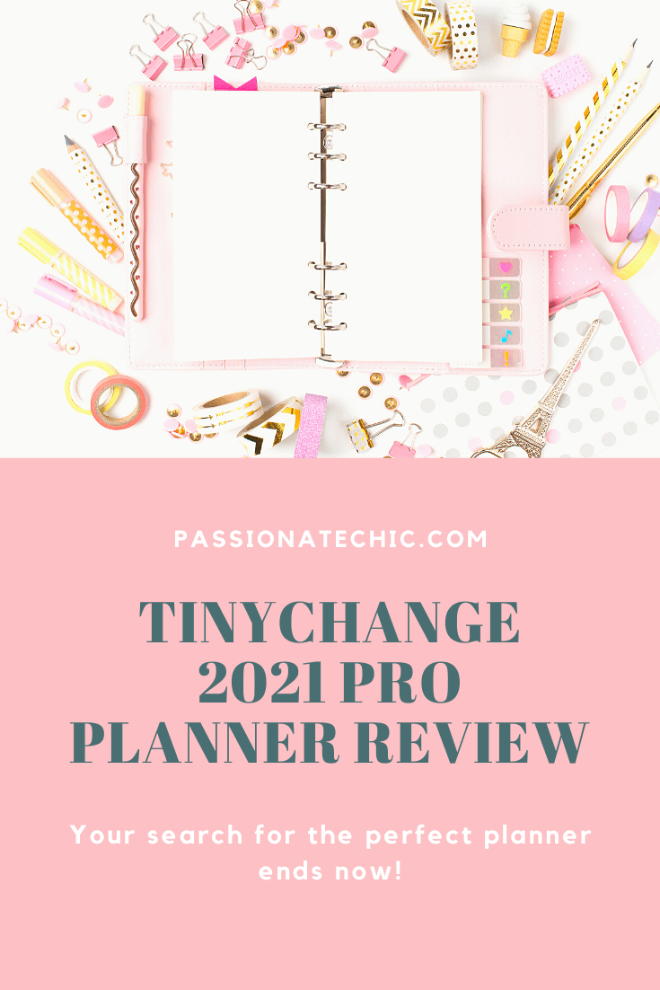 TinyChange Planner Review