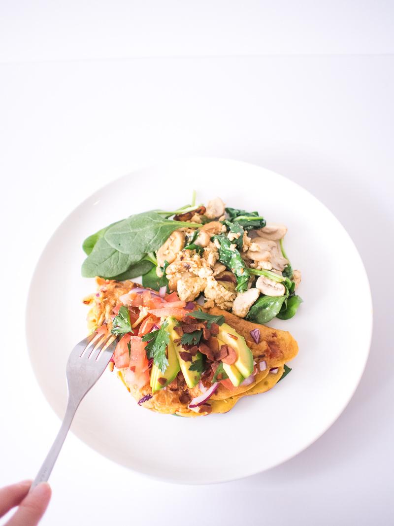 Vegan omelette-57
