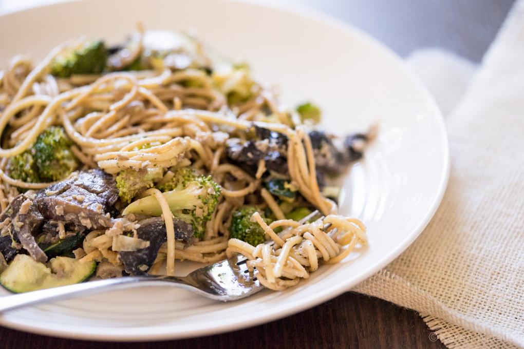 Creamy Mushroom Pasta-1