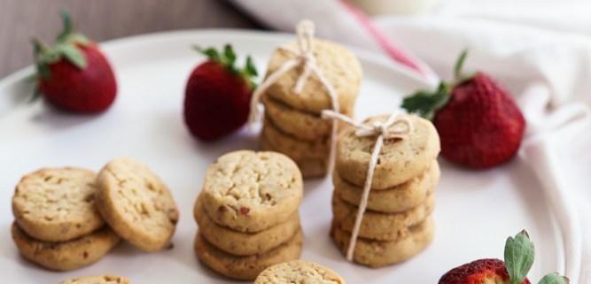 Ultimate Vegan Almond Shortbread - Passionately Keren