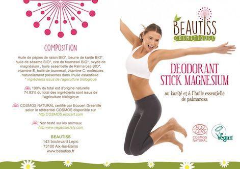 Deodorant Bio Beautiss