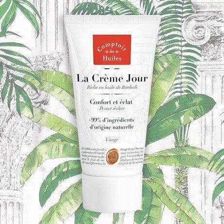 Crème visage à l'huile de Baobab