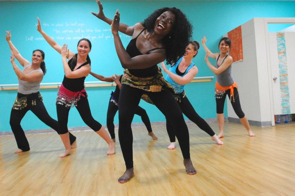 Karingah! World fusion dance fitness
