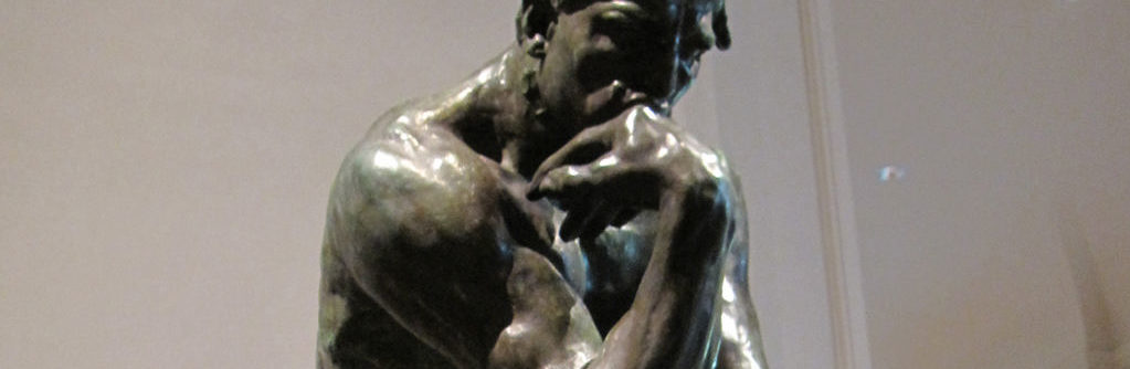Image of muscular man sculpture