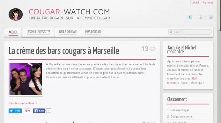 Cougar-Watch - Test, Avis et Critique