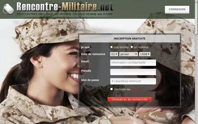 Rencontre-Militaire.net - Test, Avis, Critique, Infos et Tarifs