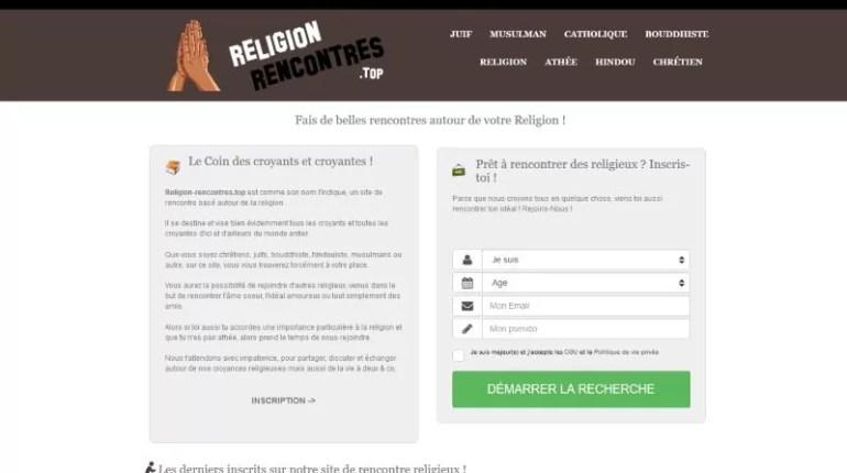 Religion Rencontres - Test, Avis et Critique