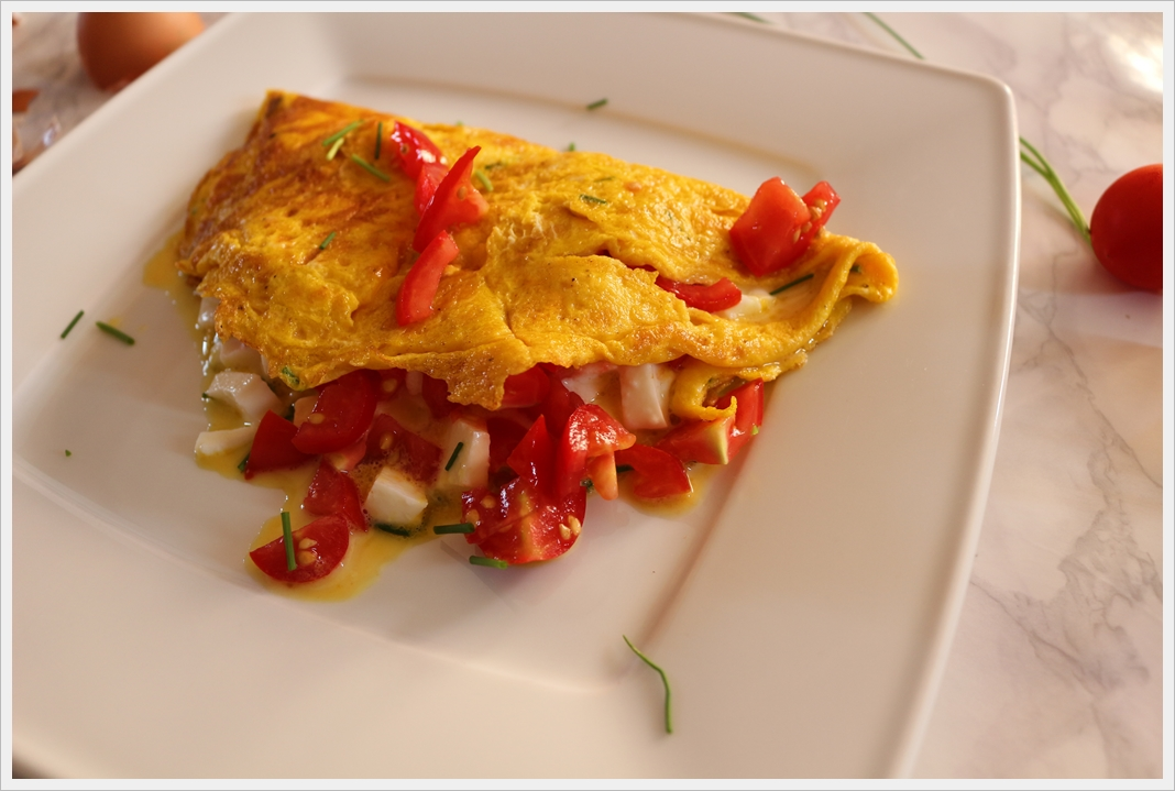 Omelette alla pizzaiola, un viaggio in Provenza