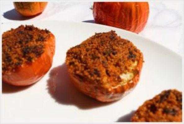 ricetta melanzane rosse gratinate