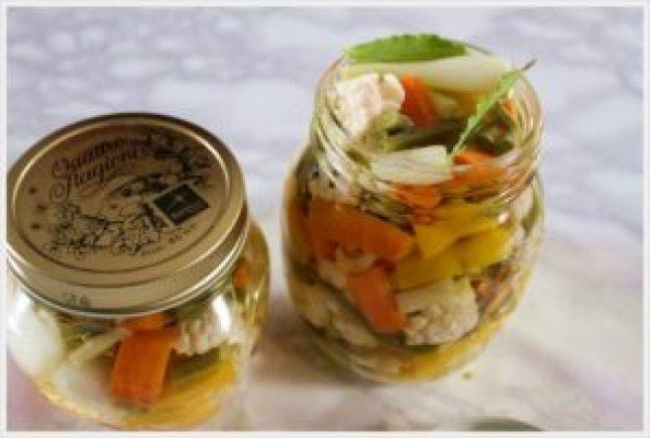 ricetta conserve di verdure sott'olio