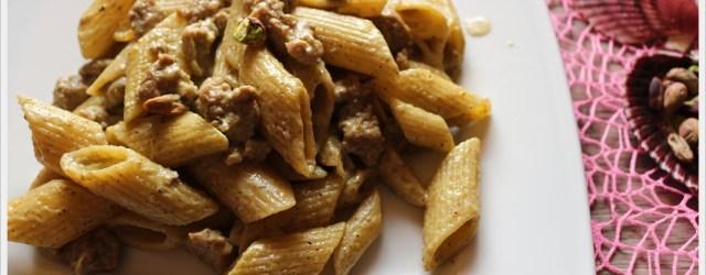 ricetta-pasta-salsiccia-e-pistacchi