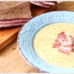 ricetta vellutata di verza con pancetta croccante