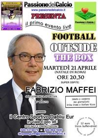 Football outside The Box