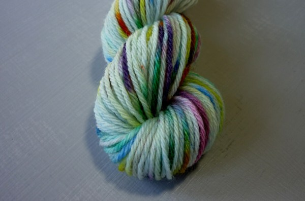 Wild Flowers mini skein close up