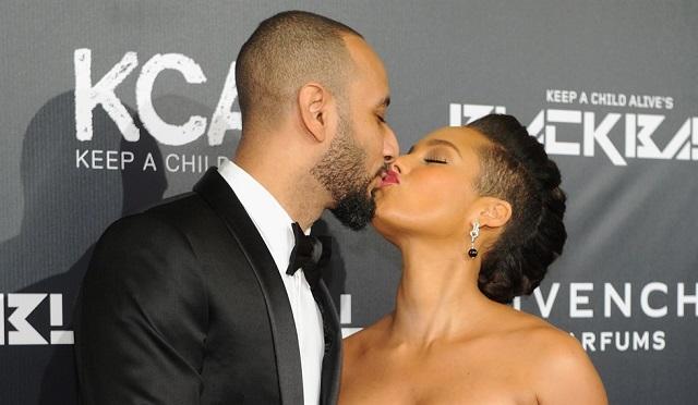 Alicia Keys e marito