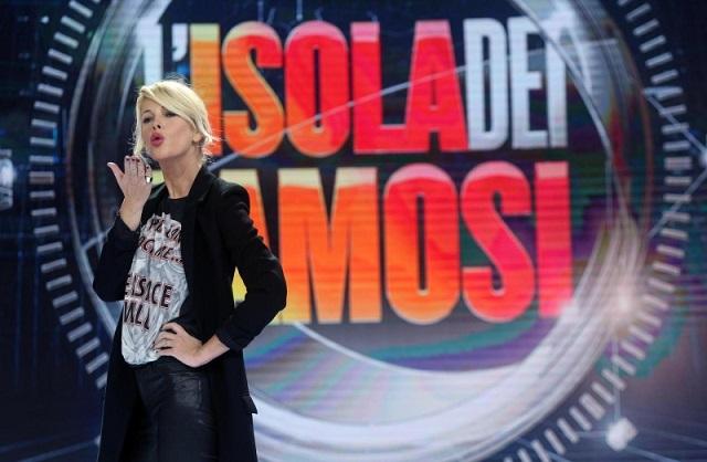 Alessia Marcuzzi bacio