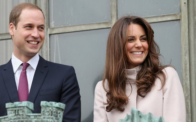 William e Kate Londra