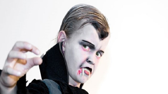 foto trucco da vampiro halloween