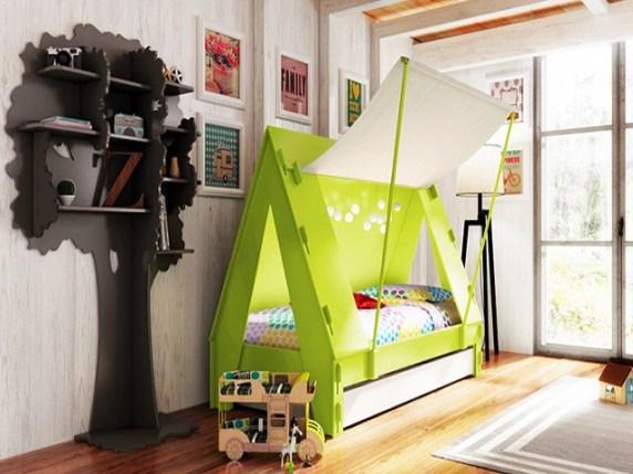 Lettini per bambini i modelli migliori da scegliere for Camerette particolari per bambini