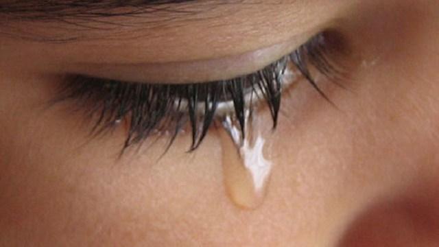 mamma che piange