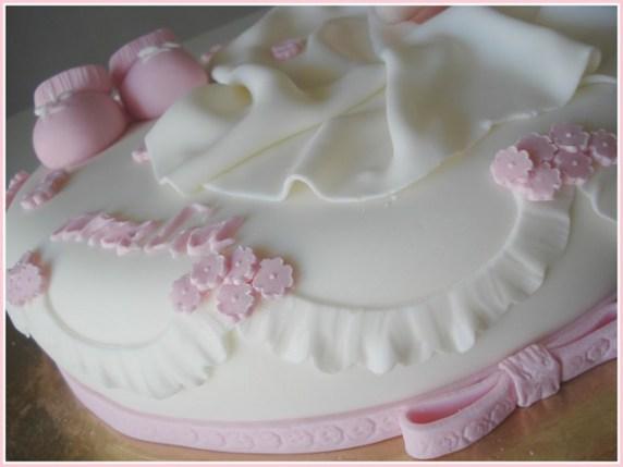 Torte battesimi bimbe le pi belle e gustose passione mamma - Decorazioni per battesimo bimba ...