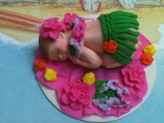 torta hawaii baby shower