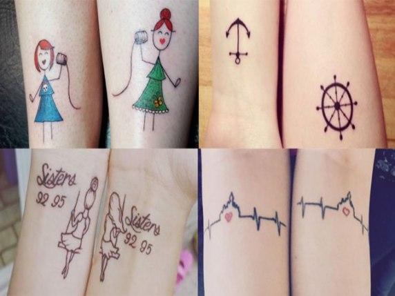 tatuaggi per sorelle