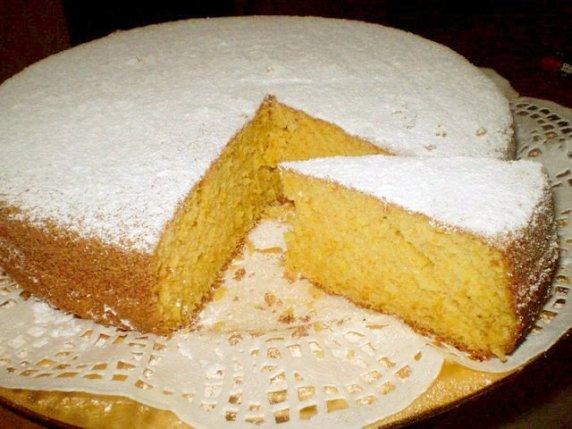 torta soffice alla zucca
