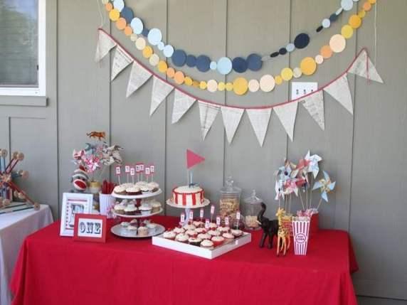 primo compleanno decorazioni