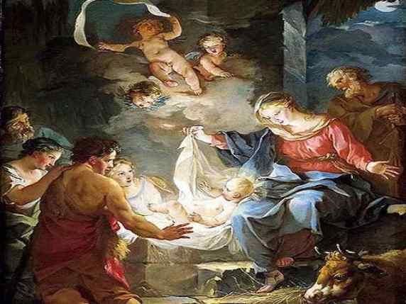 la nascita di Gesù per bambini