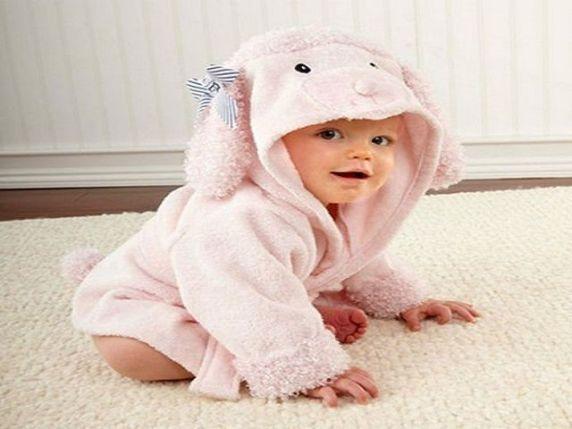 accappatoio neonata