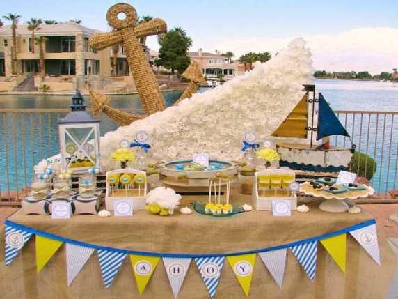 baby shower in spiaggia