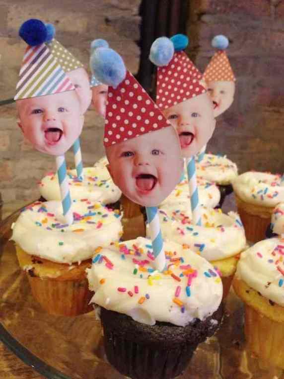 cupcake per primo compleanno