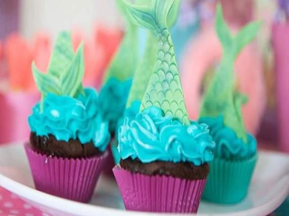 cupcake tema marino