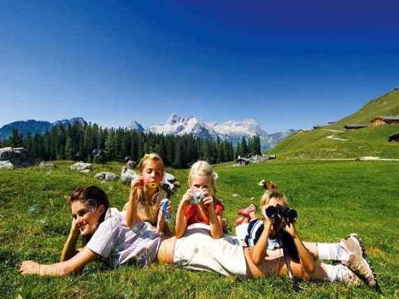 Vacanze in montagna con bambini le mete migliori per for Vacanze in montagna