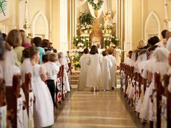prima comunione chiesa