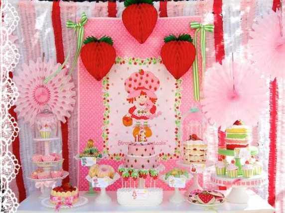fragolina dolce cuore allestimento primo compleanno