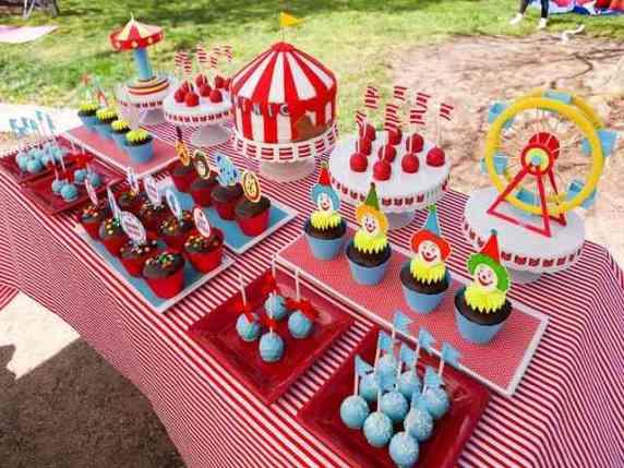 tema circo festa