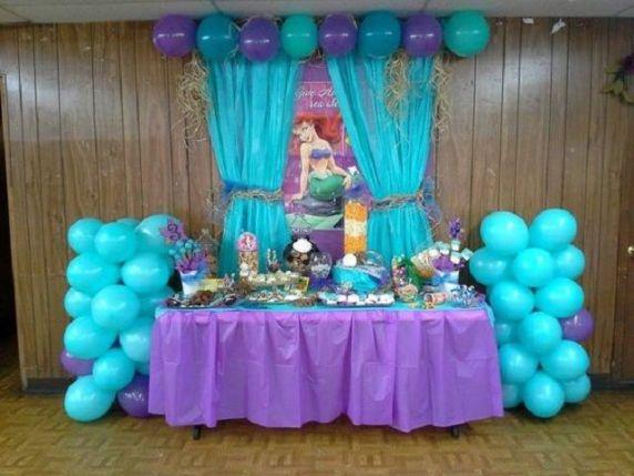 festa di compleanno la sirenetta