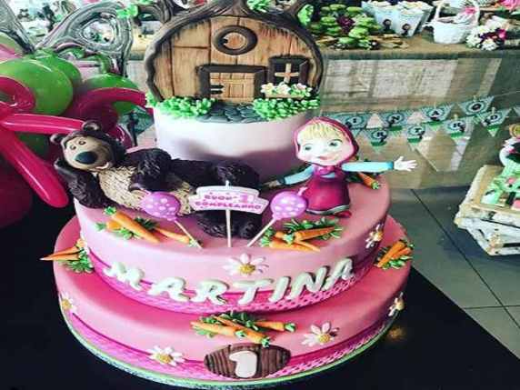 compleanno figlia enrico brignano torta