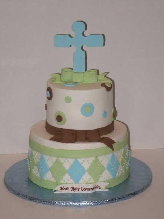 torta verde e celeste